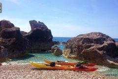 Randonnées kayak dans les iles Ioniennes - Cephalonie - Grece