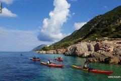 Randonnées kayak dans les iles Ioniennes - Ithaque - Grèce