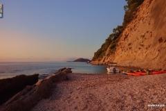 Randonnées kayak dans les iles Ioniennes - Kalamos - Mitikas - Grèce