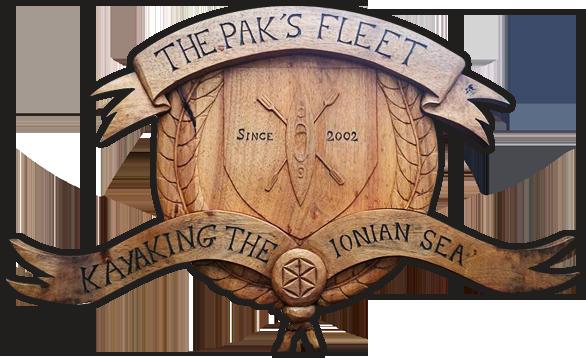 The Pak's Fleet : Kayaking the Ionian Sea
