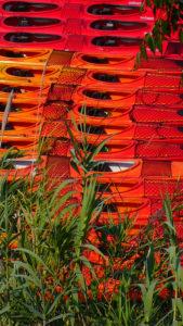 Flotte de Kayak