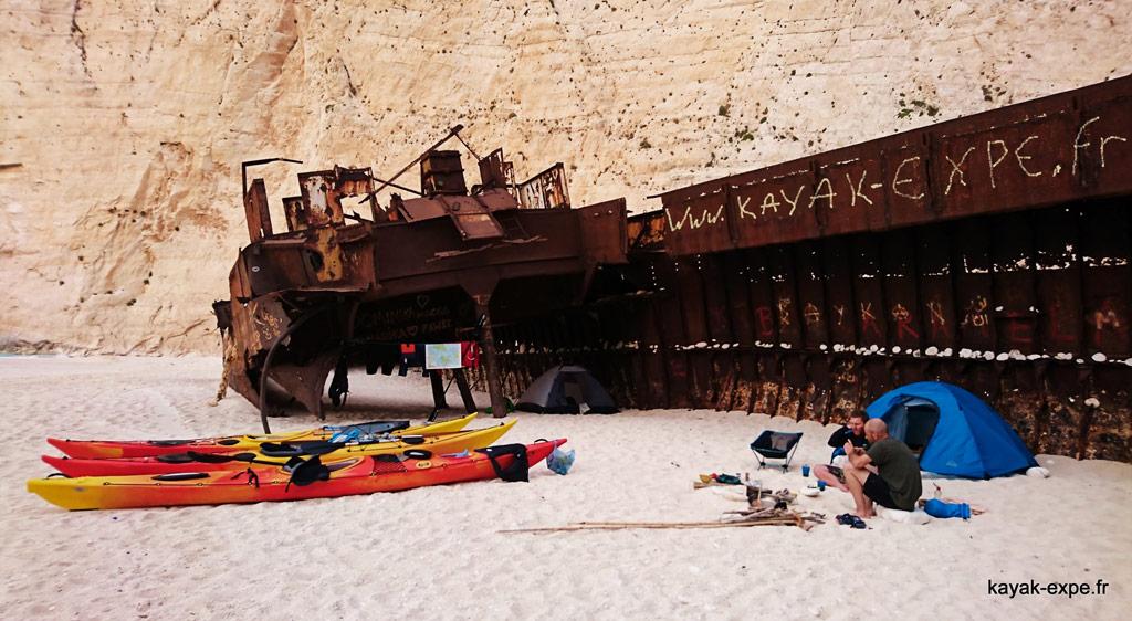 Photo de présentation du séjour Epicurie Kayak autour de Céphalonie et Zante