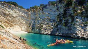 Photo de présentation du séjour L'Odyssée kayak autour d'Ithaque