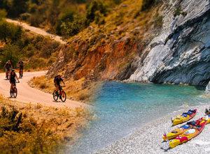 Photo de présentation du séjour Le raid kayak vélo des îles Ioniennes